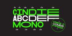 Cindie Mono font download