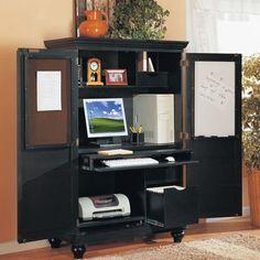 Nice Computer Armoire Work Station Desk Comes In CREAM U003eu003eu003eu003e You Need