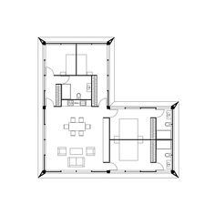 Sutton House, Temporary Housing, Weekend House, Small Buildings, Shed Homes, Modular Homes, House Floor Plans, Interior And Exterior, House Design