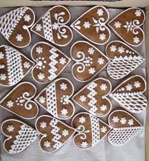 Související obrázek Christmas Sugar Cookies, Valentine Cookies, Holiday Cookies, Christmas Desserts, Christmas Baking, Christmas Diy, Gingerbread Decorations, Christmas Gingerbread, Gingerbread Cookies