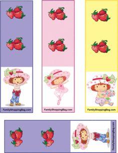 Strawberry Shortcake 2 Bookmarks