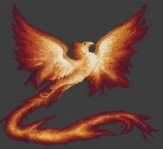 Phoenix: a symbol of the resurrection of Christ.