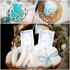 blue wedding theme | Image Une Vie en Provence