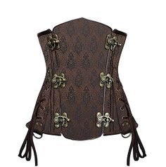 A quintessential aspect of steam punk fashion for women is usually the Victorian corset. View CorsetDeal's steampunk corsets here. Victorian Corset, Steampunk Corset, Steampunk Fashion, Underbust Corset, Fashion Backpack, Womens Fashion, Boned Corsets, Steel, February