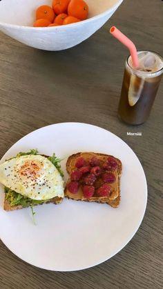 Healthy Breakfast Recipes, Healthy Snacks, Healthy Eating, Healthy Recipes, Diet Recipes, Comfort Foods, Good Food, Yummy Food, Aesthetic Food
