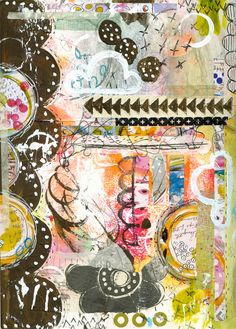 """""""Every Life Has a Story!"""" - {Roben-Marie Smith} - Art Journal Love - Clouded..."""