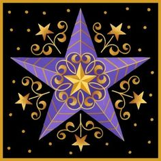 'Purple Star' By Stephanie Stouffer