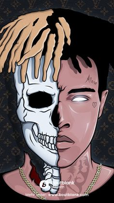XXXTentacion HD Wallpaper for iPhone and Android - free download at: https://www.boutblank.com/downloads