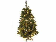 Albero di Natale abete pino artificiale Norvegese con 358 rami e luci gialle . Altezza 150 cm e base d'appoggio in metallo  Misure: Ø 90 cm x 150 H Materiale: Plastica