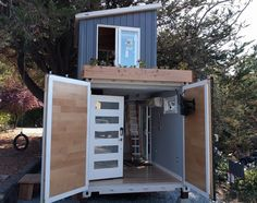 The Boxed Haus Two-Story Shipping Container Home