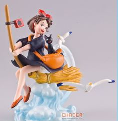 New Free Shipping Kiki's Delivery Service Figure PVC Toy 10cm Dolls-in Action & Toy Figures from Toys & Hobbies on Aliexpress.com