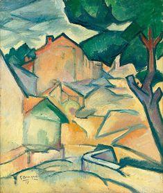 Comienzos del cubismo. GEORGE BRAQUE