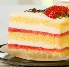 Strawberries and Cream Sponge recipe made using a mixer