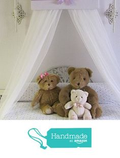 Bed Canopies, Canopy, White Sheer Curtains, Silver Tiara, Bow Jewelry, Nursery Bedding, Cribs, Lavender, Teddy Bear