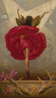 Flamenco Dancer by Vladimir Kush