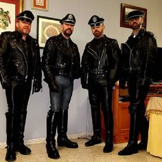 gay leather party