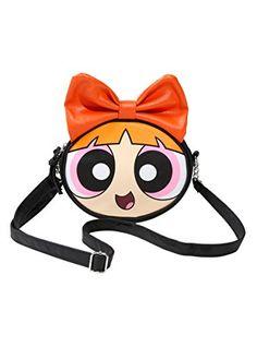The Powerpuff Girls Blossom Character Crosbody Bag Cartoo…