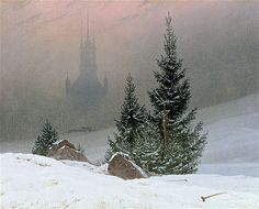 Caspar David Friedrich 'Winter Landscape', 1811
