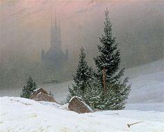 Caspar David Friedrich 'Winter Landscape', 1811