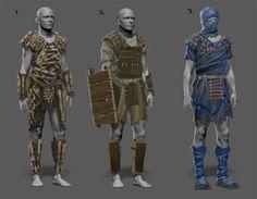 Fantasy Concept Art, Fantasy Character Design, Sci Fi Fantasy, Character Art, Bone Armor, Adventure Island, Armor Clothing, Sword And Sorcery, Armor Concept
