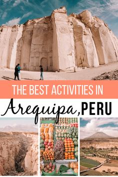 The best things to do in The White City, Arequipa, the most underrated city in Peru. Discover Arequipa's best sites, museums, indoor and outdoor activities, shopping, and more. Written by a local gringa who lived Arequipa for four months. | Arequipa Itinerary | Colca Canyon | Places to Visit in Arequipa | Guide to Arequipa | #Arequipa #Arequipa #Peru #SouthAmerica