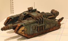 Peregrine's DKoK - Updated 12/31: Wrecked Chimera FINISHED - Forum - DakkaDakka | My other car is a Land Raider.