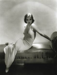 Art photography black and white portrait fashion style by Jean Harlow 1911- 1937