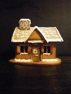 Domek z piernika, pierniczki, ozdoby świąteczne