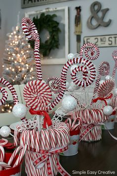 Christmas Table Centerpieces - Hoosier Homemade