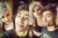 One Direction's Zayn Malik and Little Mix's Perrie Edwards