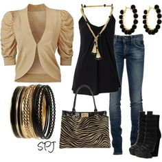 I don't like gold but I do <3 this!