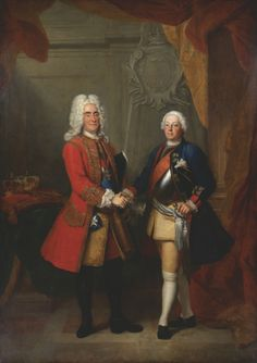 Louis de Silvestre Portrait of August II of Poland and Friedrich I of Prussia - The Largest Art reproductions Center In Our website. Low Wholesale Prices Great Pricing Quality Hand paintings for saleLouis de Silvestre Monuments, Dresden, Friedrich Wilhelm I, Frederick William, 18th Century Dress, 19th Century, Seven Years' War, Peter The Great, Ancient Romans