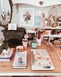 My idea of cleaning my desktop is putting everything into piles 😂 What's the current state of your desk/work area? Bedroom Decor For Small Rooms, Study Room Decor, Room Ideas Bedroom, Diy Bedroom Decor, Teen Room Designs, Aesthetic Room Decor, Boho Aesthetic, Room Goals, Cozy Room