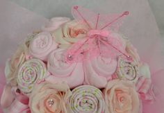 Baby Bouquet 19 items of Baby Clothes Baby by Bizziebeesgifts