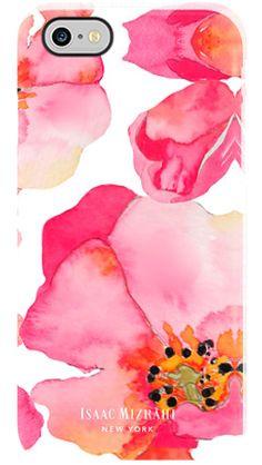 f9c13197adfa7 Watercolor Flowers by Isaac Mizrahi for iPhone 6 Single Shot Deflector  Fundas