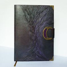 Guest Book Family Memories Leather Journal A4 Manuscript