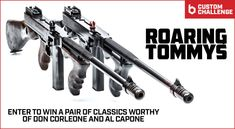 For our latest 'Custom Challenge,' we had MAD Custom Coating and Blowndeadline go 'gangster' on a pair of Auto Ordnance Thompson