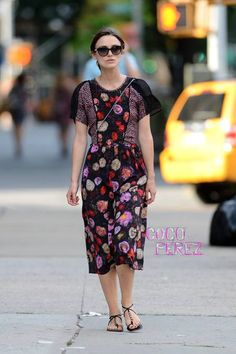 Keira Knightley Loves Her Some Florals!   CocoPerez.com