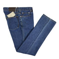 BRIONI Italy Livigno Denim Collection Flat Front Casual Jeans Pants  |  Go Shopping! http://www.frieschskys.com/bottoms/jeans  |  #frieschskys #mensfashion #fashion #mensstyle #style #moda #menswear #dapper #stylish #MadeInItaly #Italy #couture #highfashion #designer #shopping