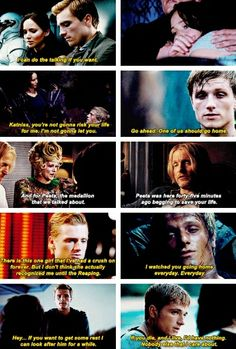 Im not usually a person who pins stuff like this. But this was so cute, and shows how selfless Peeta is. If you haven't read the books please do!