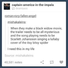 """Requirement for the """"Black Widow"""" trailer<<<<<<<SPREAD THIS. SPREAD THIS LIKE WILDFIRE!!!!!"""