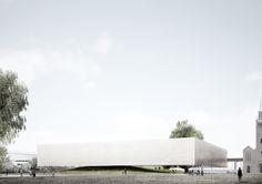 Galeria de OMA, Aires Mateus e Staab Architekten divulgam as propostas que receberam menção honrosa para o concurso do novo edifício da Neue Galerie - 22