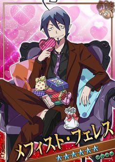 Blue Exorcist Mephisto, Blue Exorcist Anime, Ao No Exorcist, Rin Okumura, Anime Chibi, Anime Art, Otaku, Handsome Anime Guys, Anime People