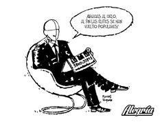 Populismo para rico #Viñeta #Humor