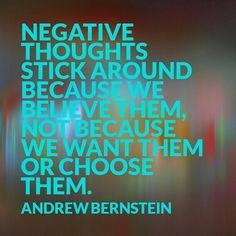 Don't let the #negativethoughts get the best of you. Turn them into #positive experiences #iamabeautifullife