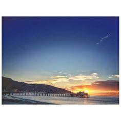 Morning 🏄🏻 Malibu, California. September 2016.