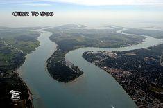 Harsens Island, North Lake St. Clair, Michigan