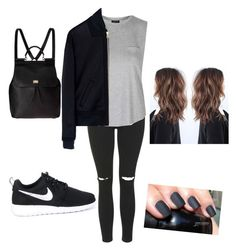 """Untitled #54"" by paigeo3 on Polyvore featuring Topshop, McQ by Alexander McQueen, NIKE and Dolce&Gabbana"