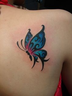 Meaning of butterfly tattoos and pictures of cute and small Butterfly Tattoo designs and images for on the wrist, shoulder, foot or lower back. Tribal Tattoos, Arrow Tattoos, Trendy Tattoos, Body Art Tattoos, Tattoos For Guys, Tatoos, Butterfly Tattoos Images, Butterfly Tattoo Designs, Flower Tattoos