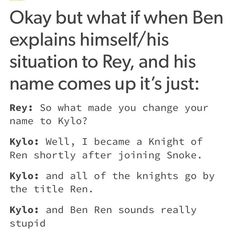 To be fair Ben Ren really does sound stupid